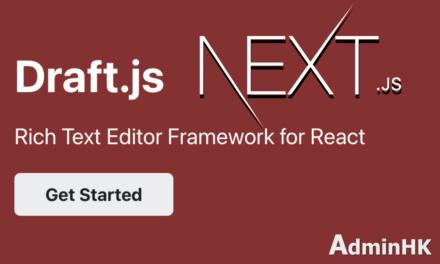 Draft.js + Next.js 一起使用時遇上的坑